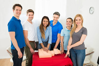 Group CPR Classes simulation