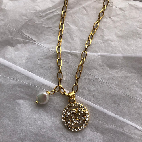 CHANEL INSPIRED NECKLACE
