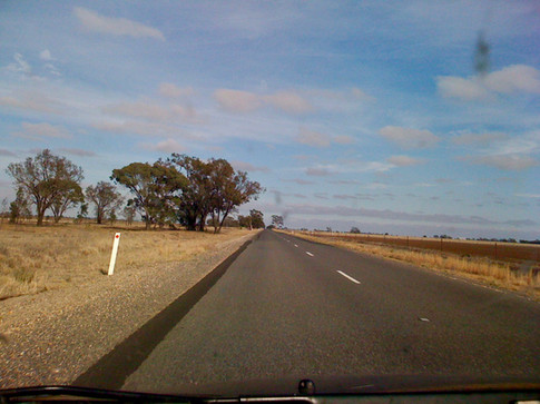 0322 Road to Warracknabeal