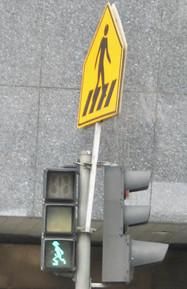 0415 Running Man Pedestrial Signal