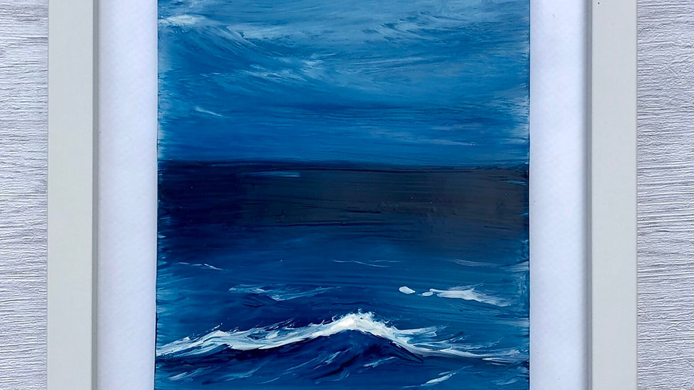"Seascape ""Blue Horizon"""