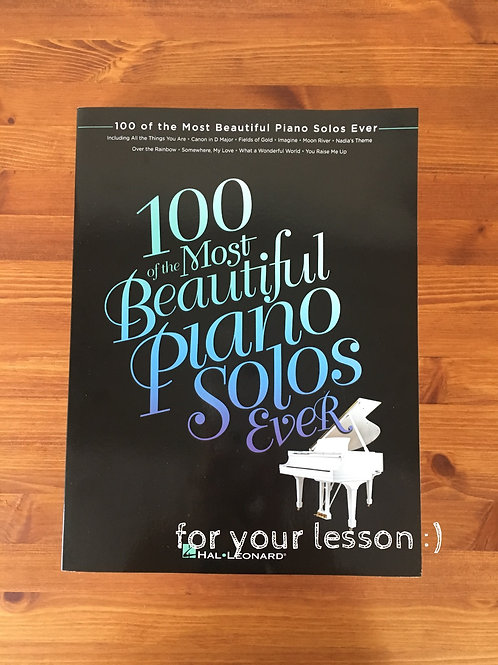 100 Most Beautiful Piano Solos Ever