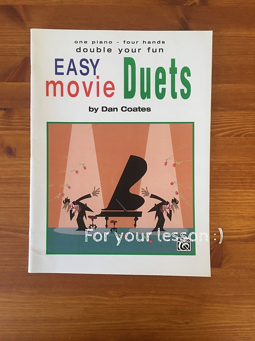 Double Your Fun - Easy Movie Duets (One Piano, 4 Hands) Easy Movie Duets