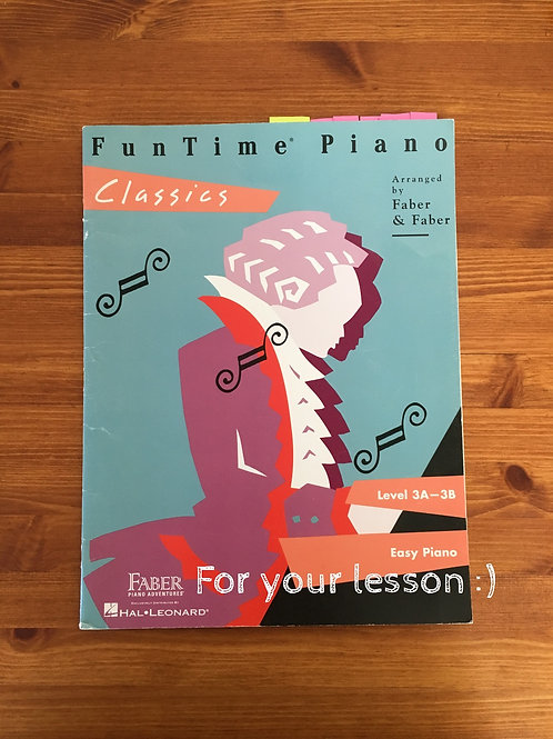 Fun Time Piano Classic : Level 3A-3B