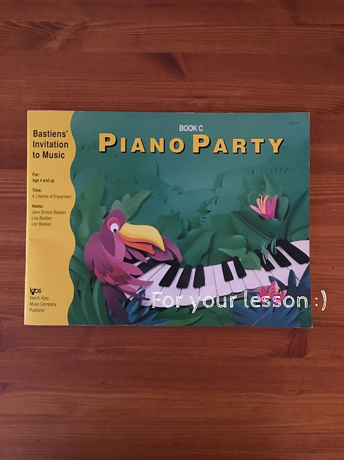 Piano Party Book C
