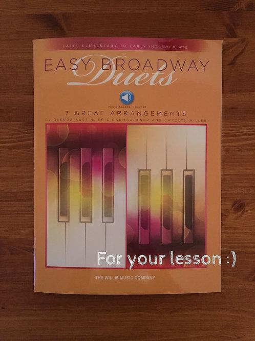 Easy Broadway Duets