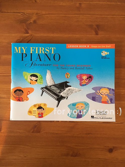 My First Piano Adventure Lesson Book B