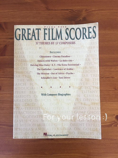 Great Film Scores