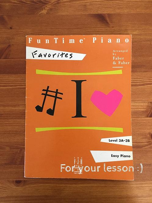 Fun Time Piano Favorites Level 3A-3B