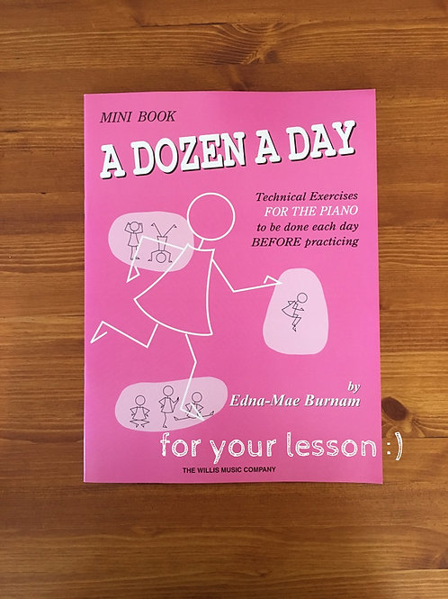 A Dozen a Day: Mini book