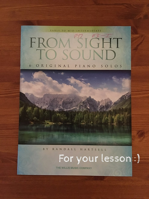 From Sight to Sound By Randall Hartsell