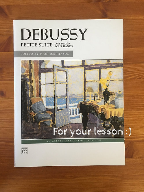 Debussy Petit Suite