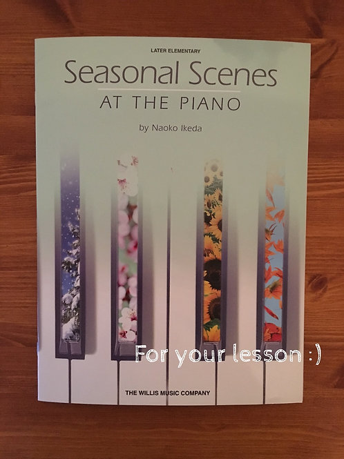Seasonal Scenes at the Piano