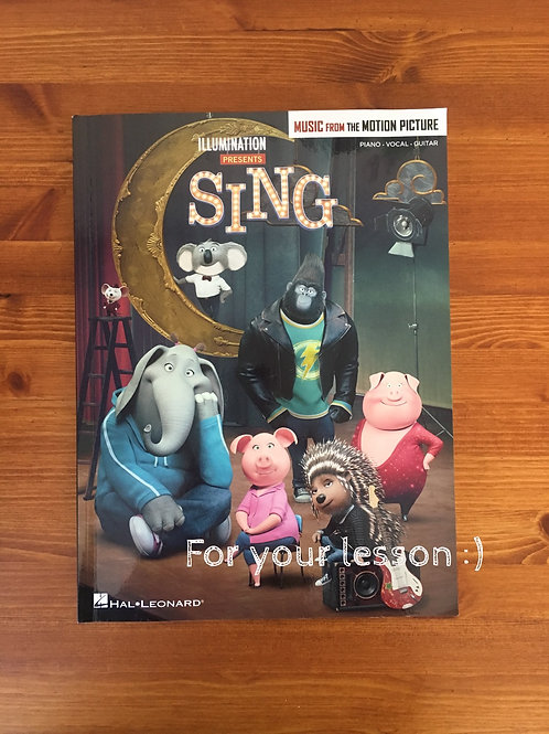 Sing Music from the Motion Picture Soundtrack