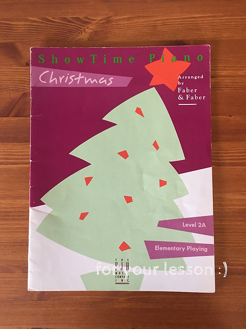 Showtime Piano Christmas : Level 2A