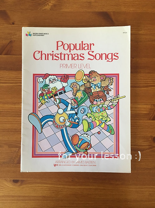 Popular Christmas Songs : Primer Level