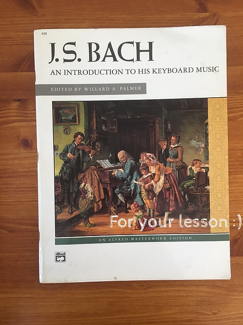 J.S Bach: An introduction to his keyboard music