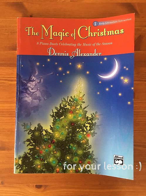 Magic of Christmas : Duets for Piano