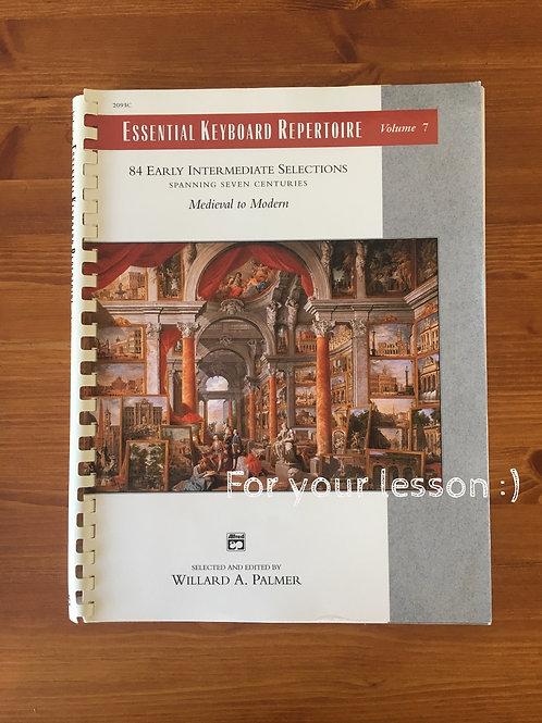 Essential Keyboard Repertoire, Volume 7
