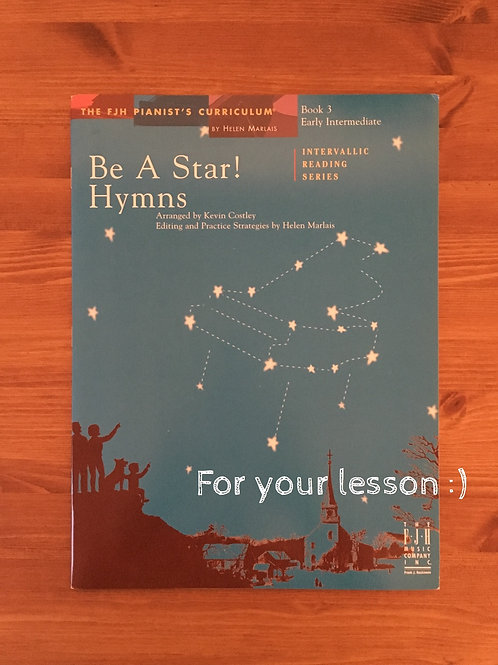 Be a Star! Hymns, Book3
