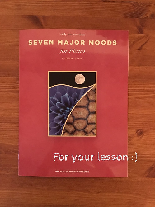 Seven Major Moods for Piano By Glenda Austin