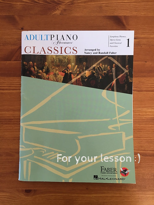 Adult Piano Adventure Classics 1