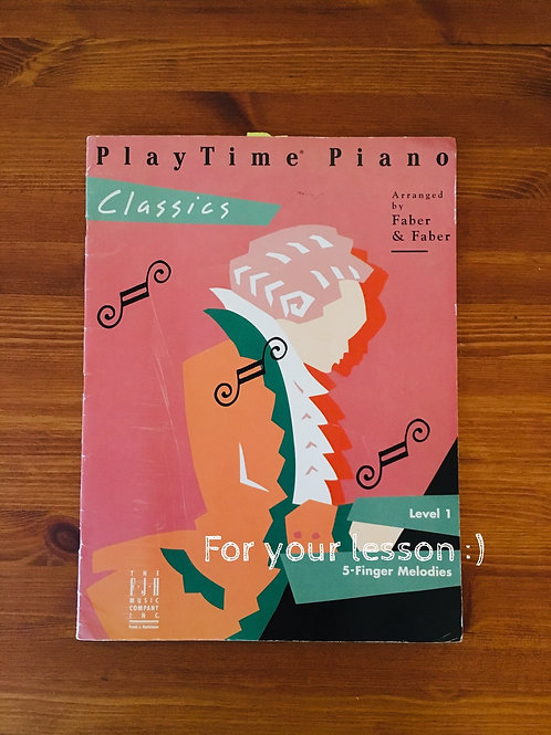 PlayTime Piano Classics Level 1