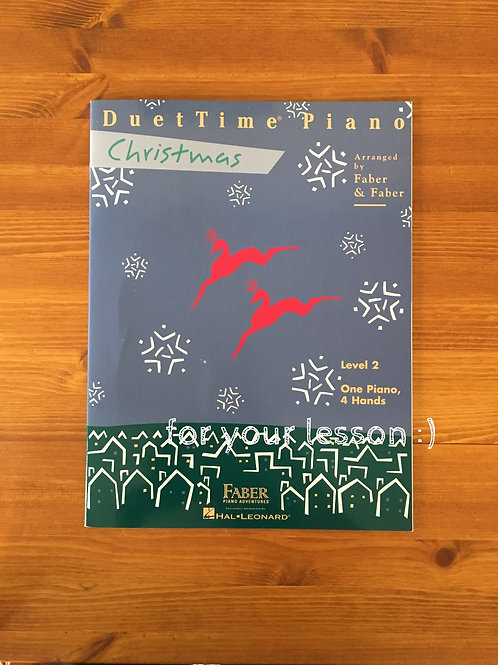 Duet Time Piano Christmas Level 2