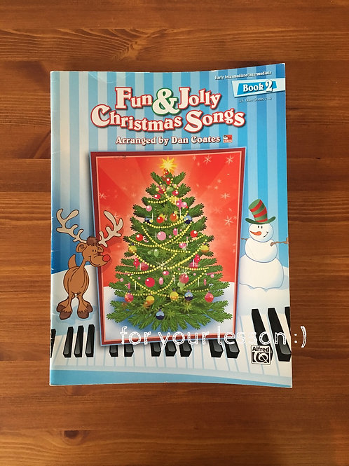 Fun and Jolly Christmas Songs : Book 2
