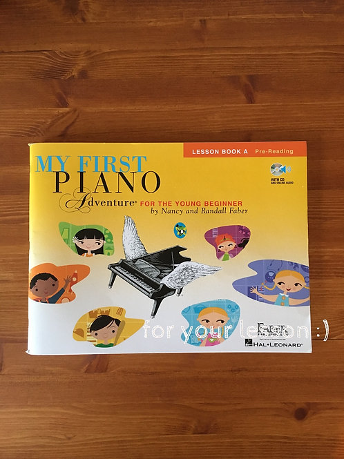 My First Piano Adventure : Lesson Book A