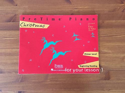 Pre Time Piano Christmas: Premier Level 1