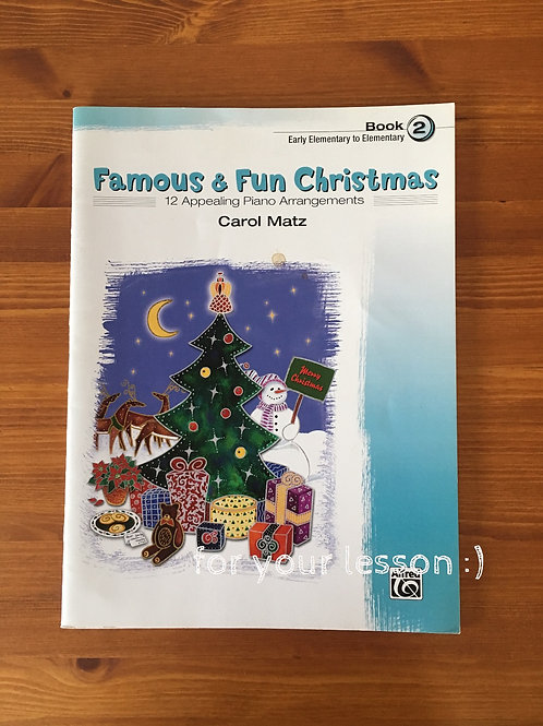 Famous and Fun Christmas : Book 2