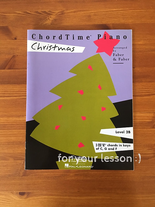 Short TimePiano Christmas : Level 2B