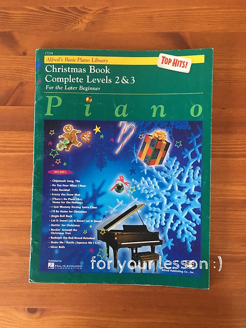 Christmas Book Complete Levels 2&3