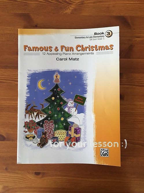 Famous and Fun Christmas Book 3