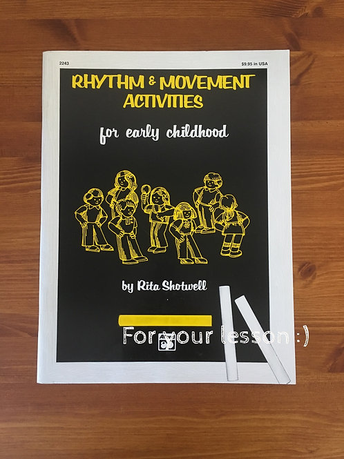 Rhythm and Movements Activities for early Childhood