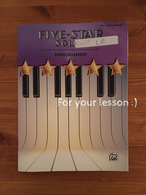 Five- Star Solos by Denis Alexander