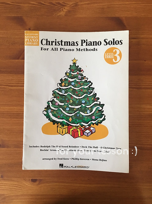 Christmas Piano Solos : Level 3