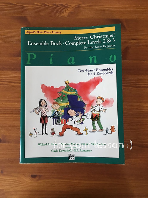 Merry Christmas! Ensemble Book - Complete Book Level 2&3