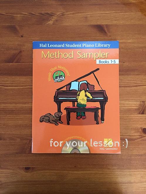 Method Sampler Book 1-5