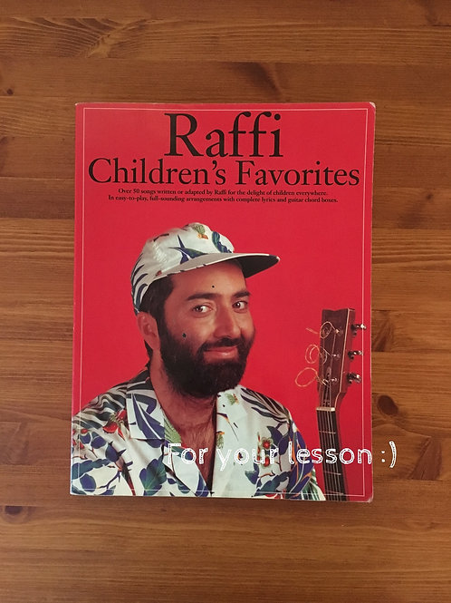 Raffi Children`s Favorites