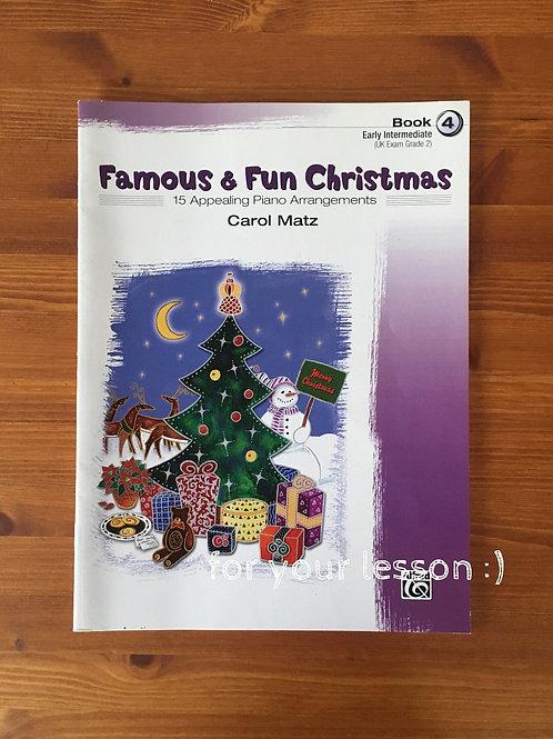 Famous & Fun Christmas Book 4