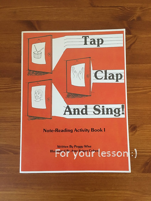 Tap Clap And Sing!