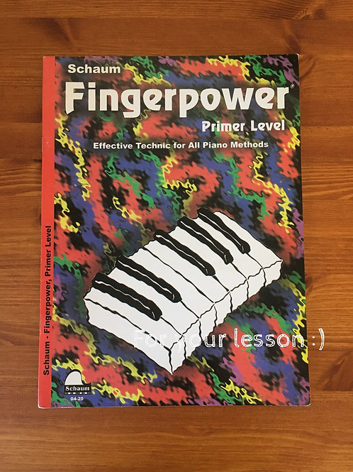 Schaum Fingerpower, Primer Level (Book) By John W. Schaum
