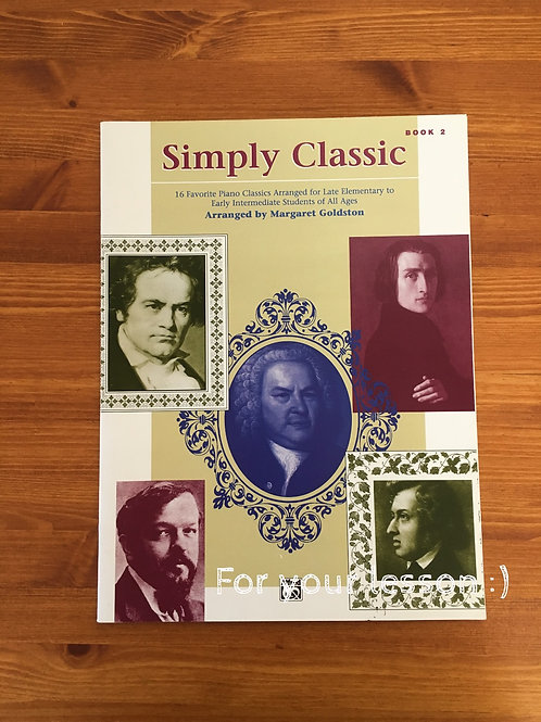 Simply Classic Book 2