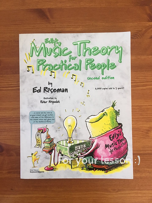 Edy`s Music Theory for Practical People