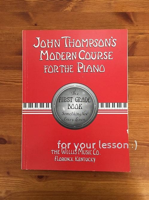 John Thompson`s Modern Course First Grade