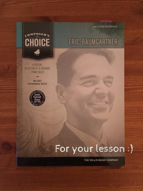 Composer's Choice - Eric Baumgartner