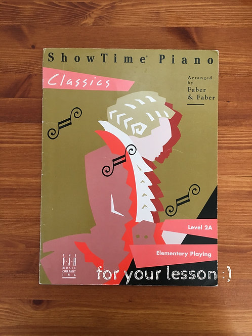 Show Time Piano Level 2A