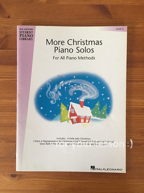 More Christmas Piano Solos : Level 2